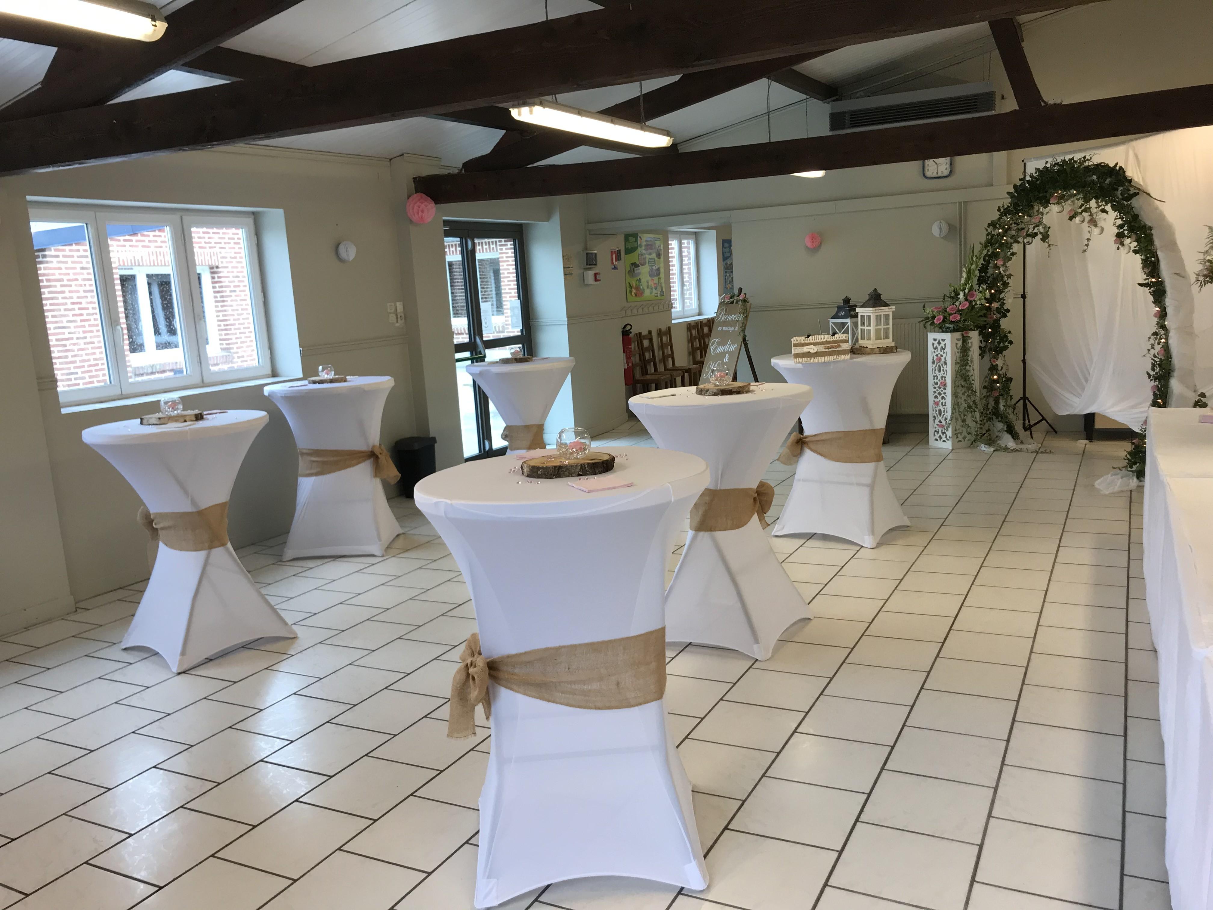 salle vin d'honneur mariage gîte les 3 tilleuls