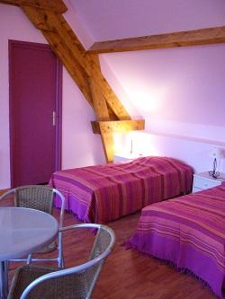 Chambre 4 : Les  Pivoines
