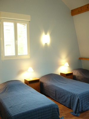 Chambre 1 : Les Bleuets