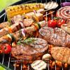 Mixed grill au barbecue