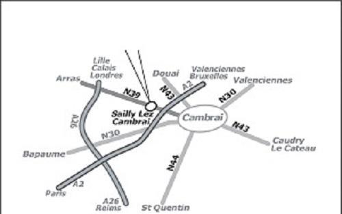 Plan route gites 2