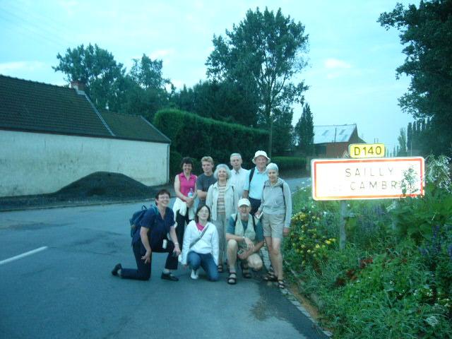 Randonnée autour du village.