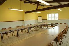Salle de séminaire.